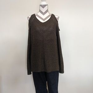 RDI Cold Shoulder Sweater